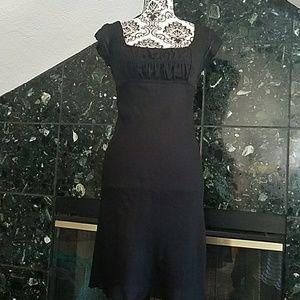 90's Adorable black dress
